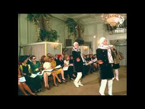 Christian Dior Fur Fashion Show, London (1969) [HD] - the funniest fashion catwalk show I have ever seen