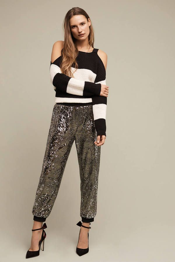 Harlyn Oro Sequined Joggers