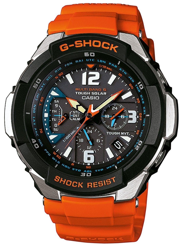 Casio Gw 3000m 4aer G Shock Radio Solar Chrono Casio G Shock Watches G Shock Watches Casio Quartz