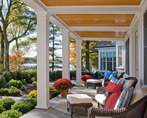 Pillar Design For Terrace Front Home Traditional Veranda Back