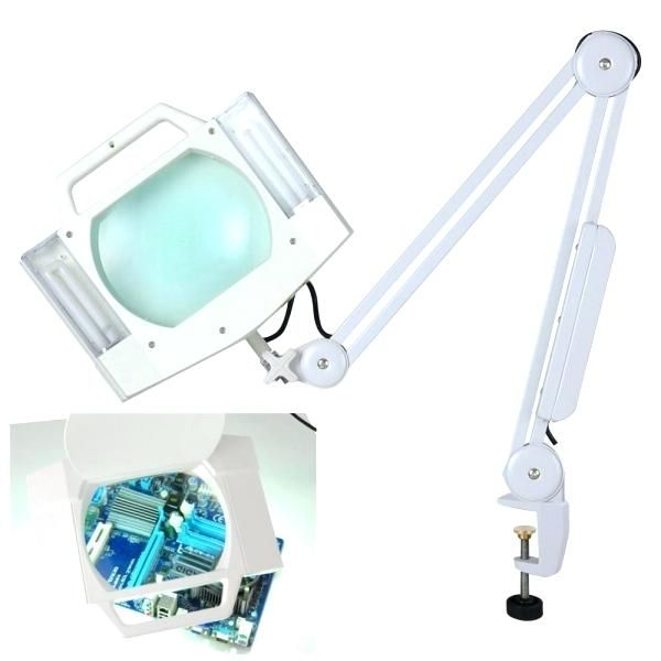 Best Lighted Magnifying Glass For Reading Floor Lamp Magnifier Lamp