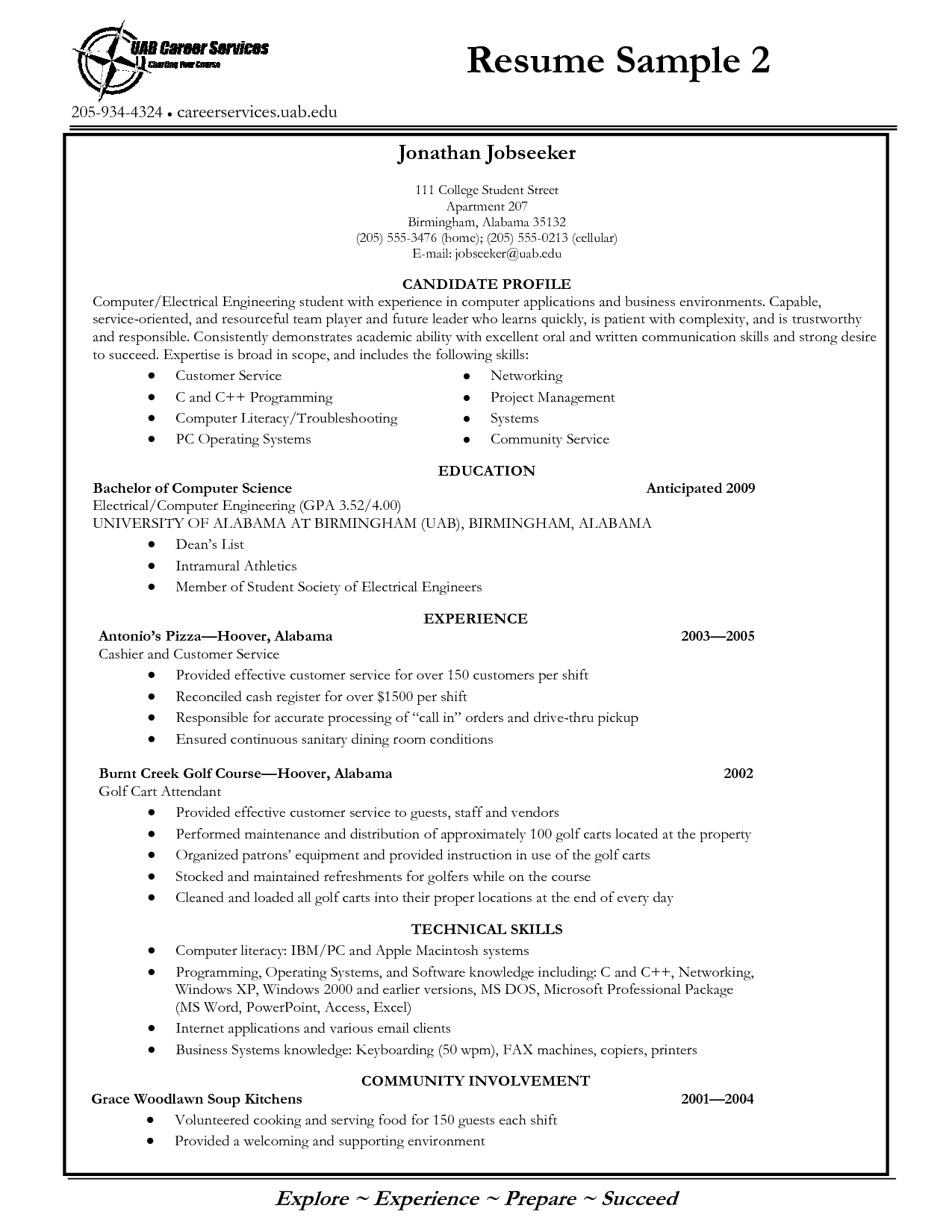 tags college graduate resume no experience college