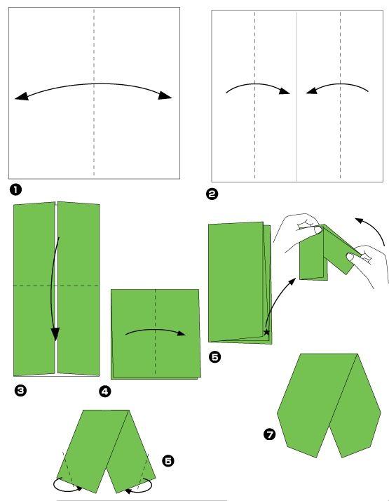 Diagramme D Origami De Lotus Etape 2 Http Www Chine Culture Com
