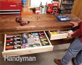 Diy Workbench Upgrades Woodworking Wannabes Diy Workbench