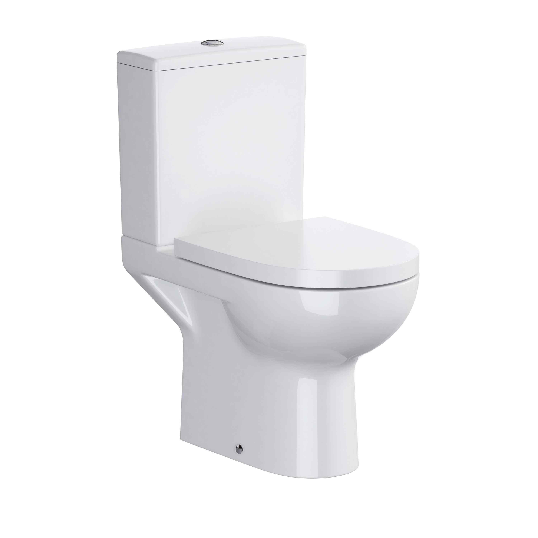 Superb Cooke Lewis San Remo Close Coupled Toilet With Soft Close Machost Co Dining Chair Design Ideas Machostcouk