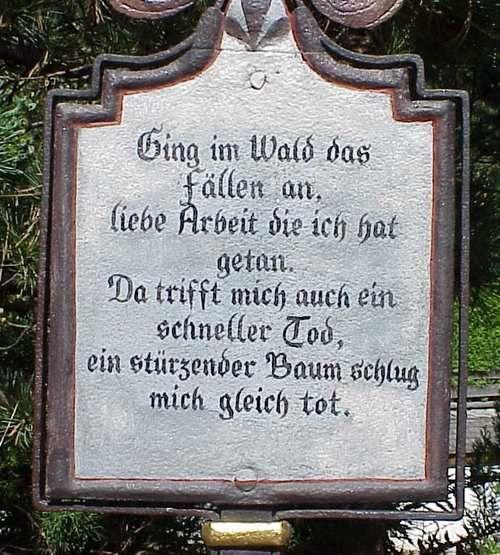 L A C H S E M I N A R E O Grabspruche Grabinschriften Friedhof