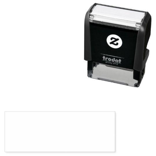 Ladybug Checks Out Your Address Self Inking Stamp Zazzle Com