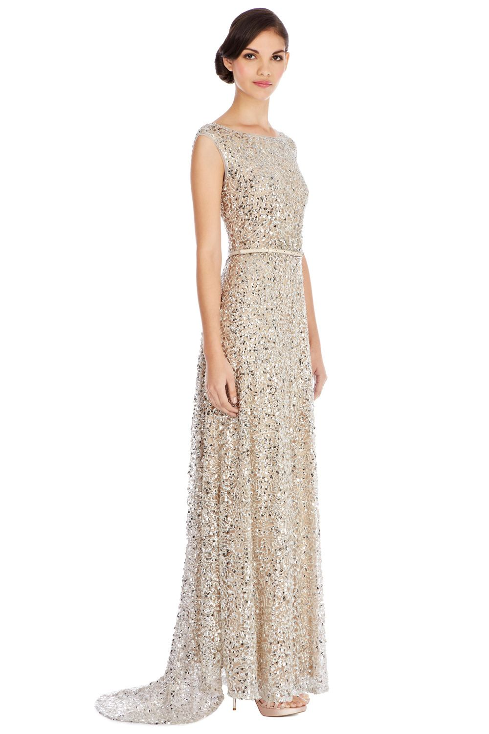 2e64f529dab An exclusive Party Dress dripping in exquisite beading and dazzling sequins.  The Desire Maxi Dress