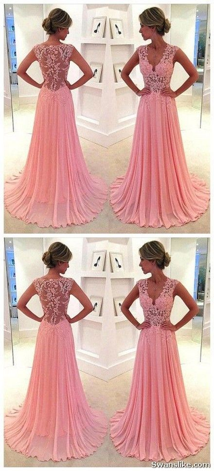 Long Evening Dress - Long Prom Dresses New Years Ladies Dresses 2018 ...