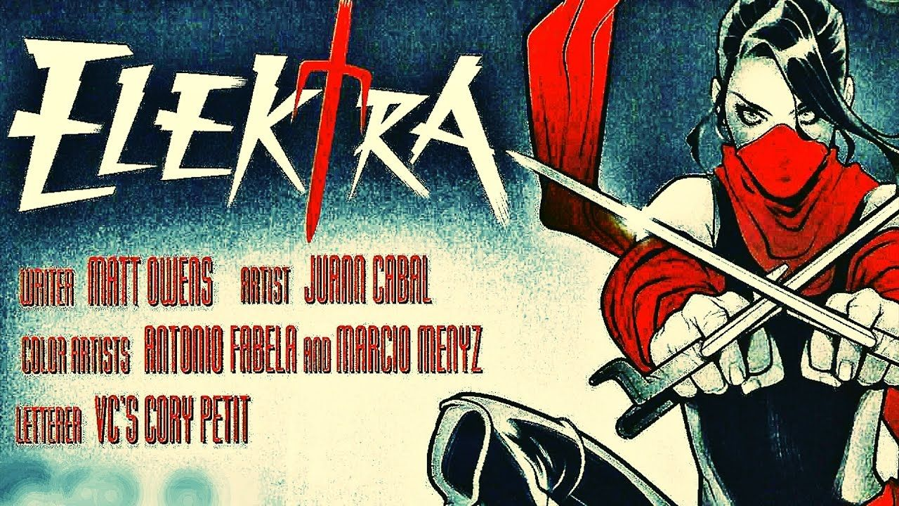 Marvel Writes Elektra Comic Book With #GamerGate Storyline