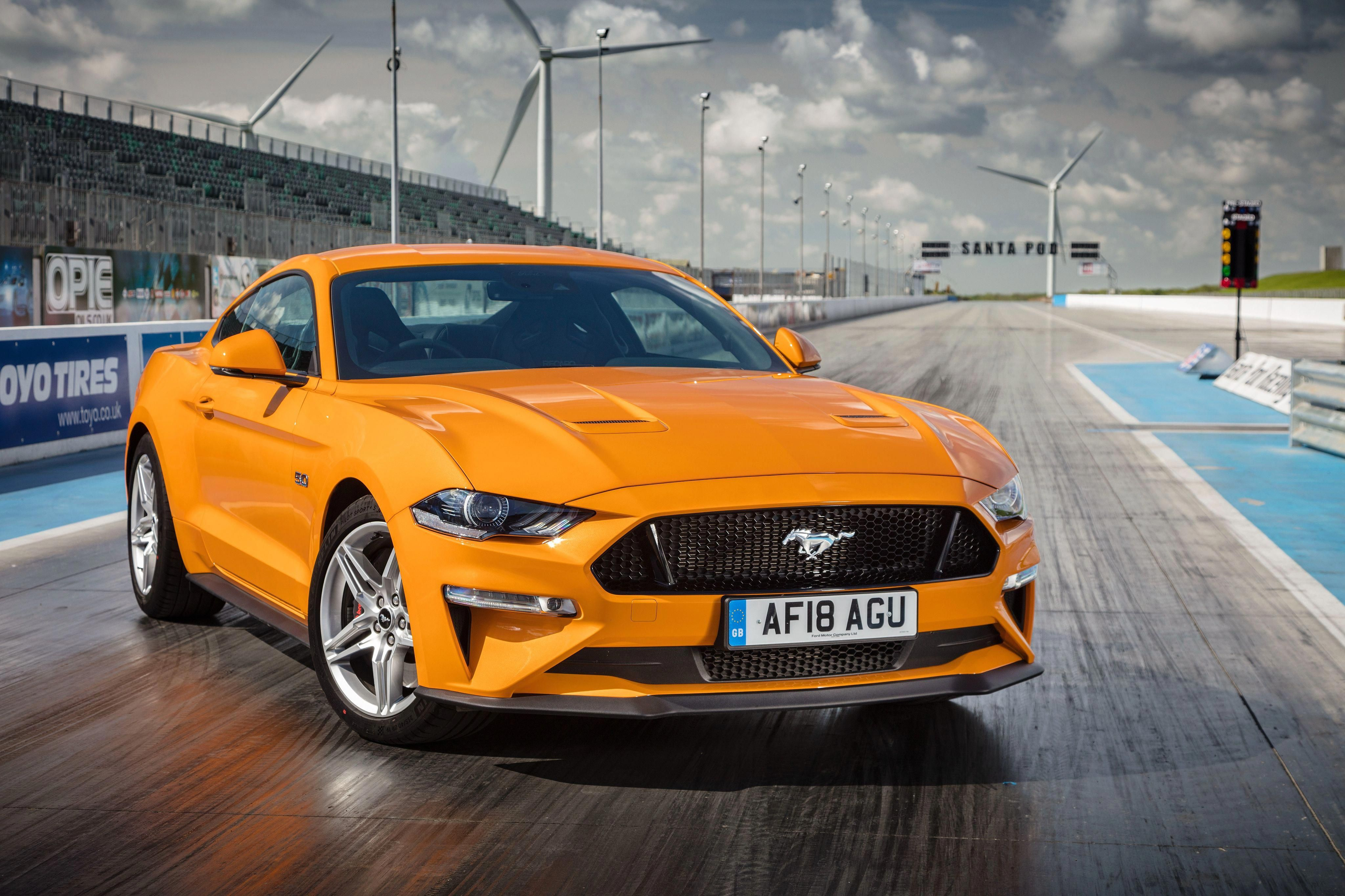 2018 Gt Fastback Americanmusclecarsford Ford Mustang Gt Yellow Mustang Mustang Gt