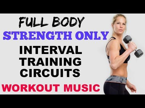 30 Minute Full Body Dumbbell Workout, Strength Training Workout, No Cardio    YouTube Complete