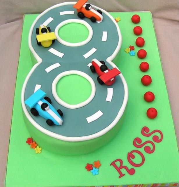 Miraculous Figure 8 Race Track 8Th Birthday Cake 8Th Birthday Cake Race Funny Birthday Cards Online Inifodamsfinfo