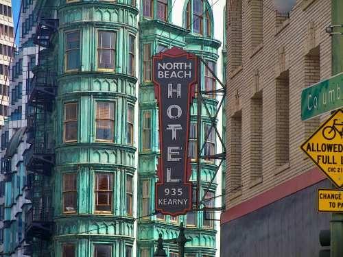 North Beach Hotel San Francisco Hotels Walking Tour