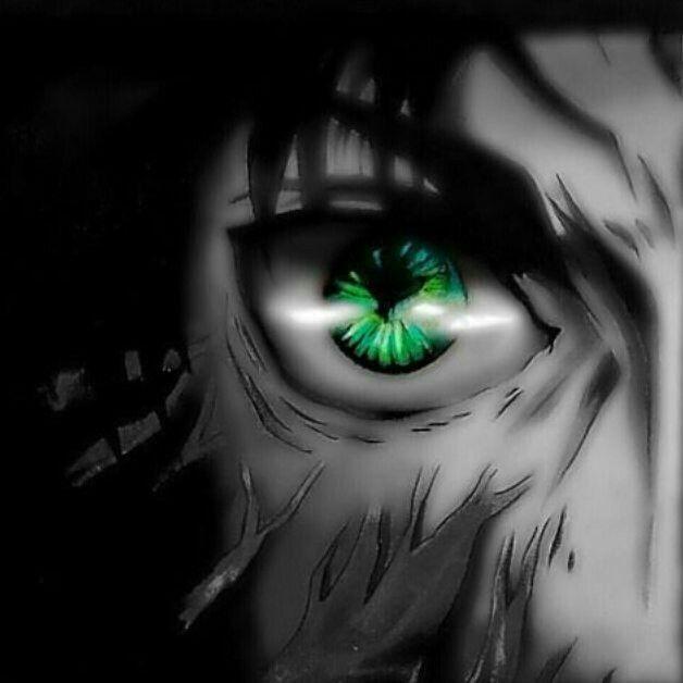 Eren Erenjaeger Eyes Animeeyes Greeneyes Fanart Aot Snk Ataque Dos Titas Shingeki No Kyojin Eren Jaeger