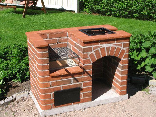 Apollo pihagrilli asaderos brick bbq brick grill y for Fogones rusticos en ladrillo