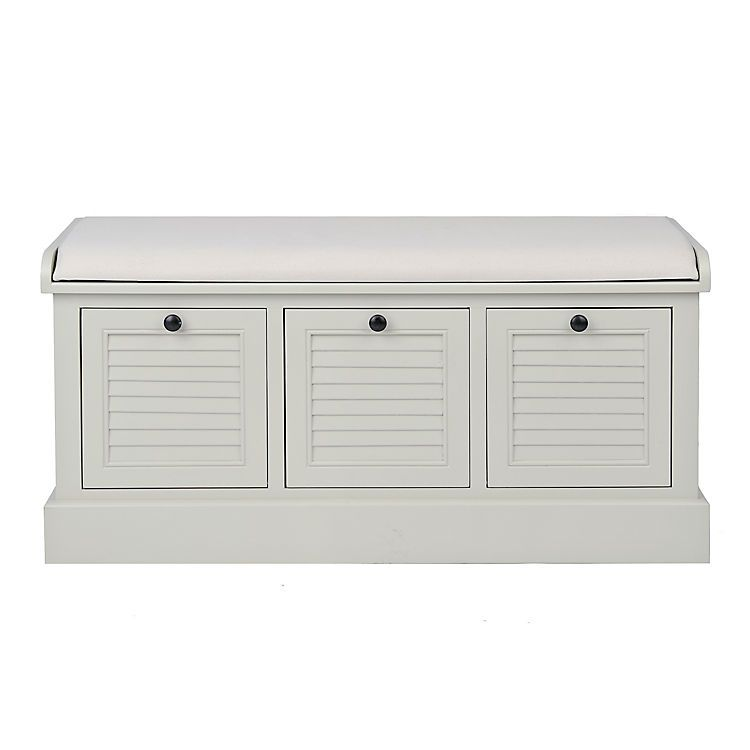 18+ White storage bench with drawers ideas in 2021