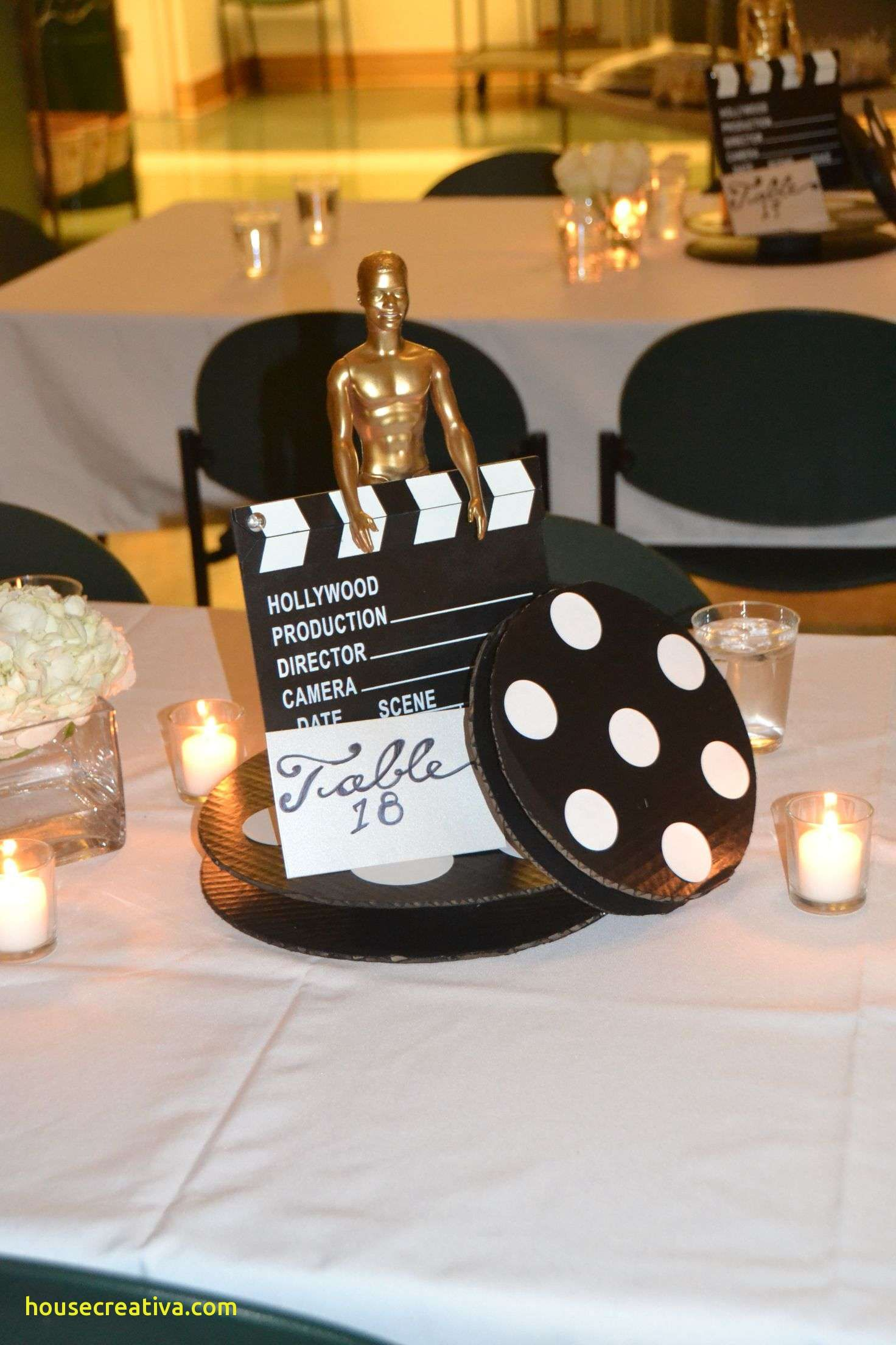 Beautiful Movie Themed Table Decorations Homedecoration