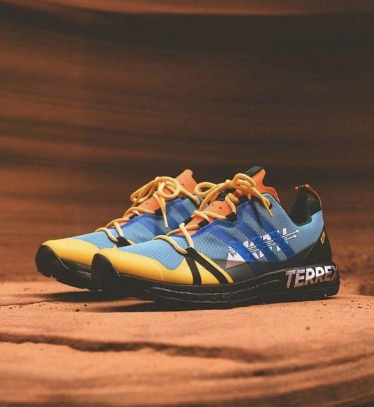 desagradable Decepcionado diagonal  KITH x adidas Terrex Agravic GTX in 2020   Asics sneaker, Sneakers, Hiking  boots