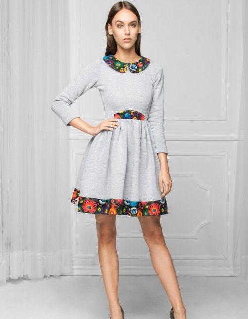 64841a65f7d75f Sukienka w stylu folk | sukienki w 2019 | Sukienka, Sukienki i Ubrania