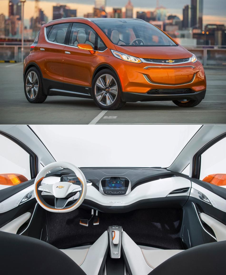 Chevy Bolt Electric Car Concept 200 Mile Range For Just 30 000