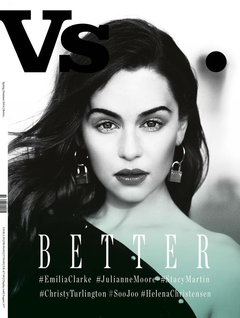 Vs. Spring/Summer 2014 Covers | Emilia clarke, Magazine ...