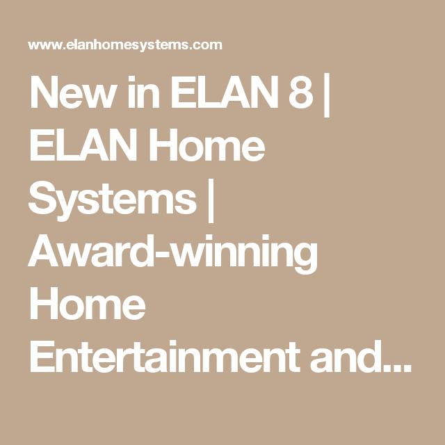 Elan Home Systems Feet
