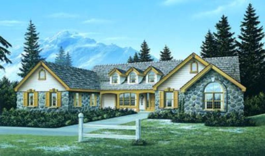 Traditional Style House Plan 4 Beds 2 5 Baths 2758 Sq Ft Plan 57 173 Country Style House Plans Ranch Style House Plans Monster House Plans