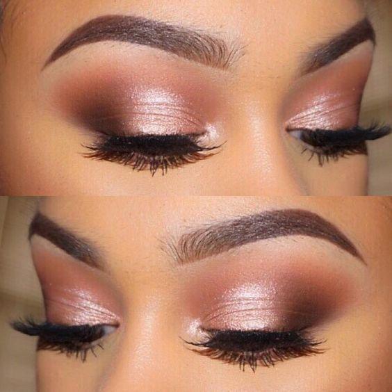 Wunderbare Augen-make-up-look mit pink Farbe Ton #makeup #Lidschatten #eyeliner #Auge…