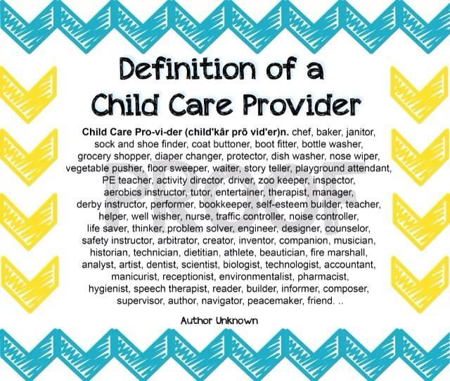 Daycare Provider Quotes. QuotesGram | Childcare quotes ...