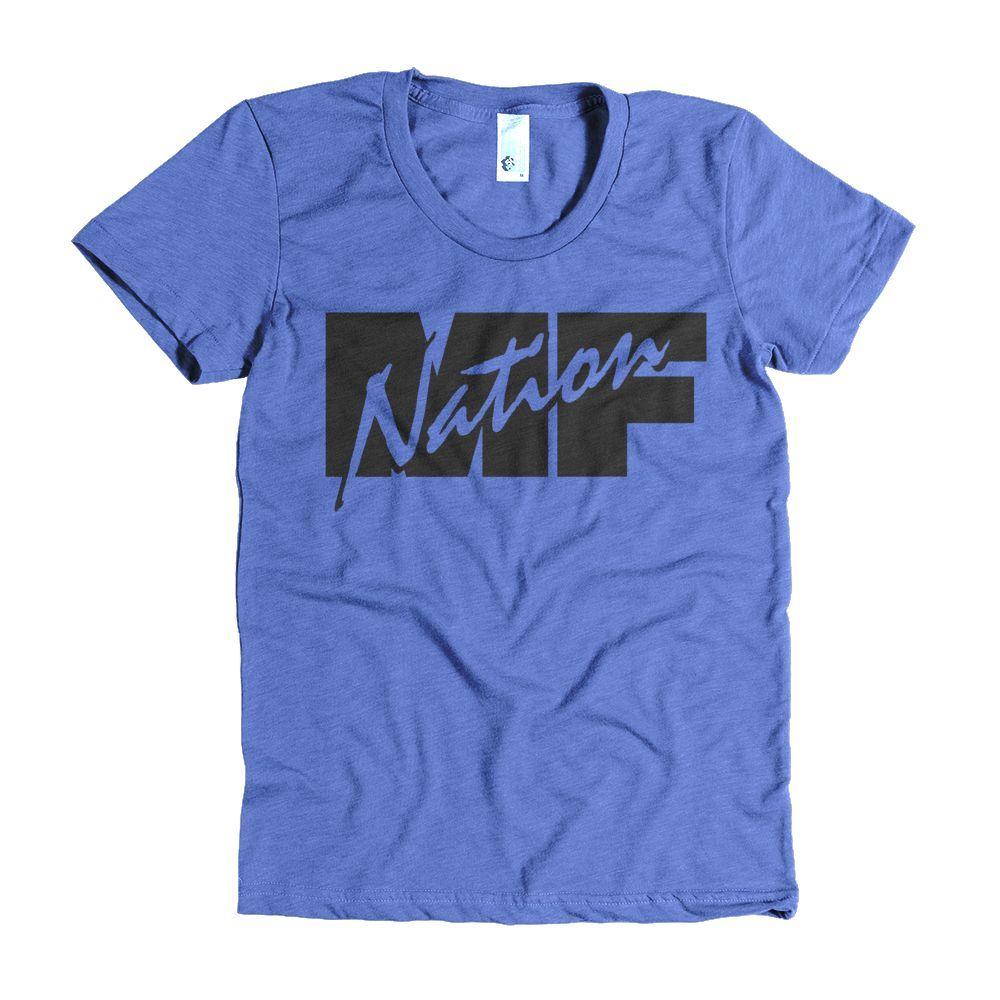 MF NATION Women's short sleeve t-shirt