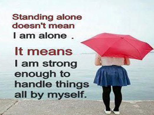 Alone Strong Enough Short Quotes   Tap To See More Best #alone #inspiration  #