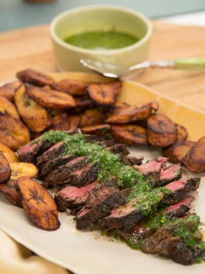 Have a look at blackened hanger steak with plantains and blackened hanger steak with plantains and chimichurri forumfinder Image collections