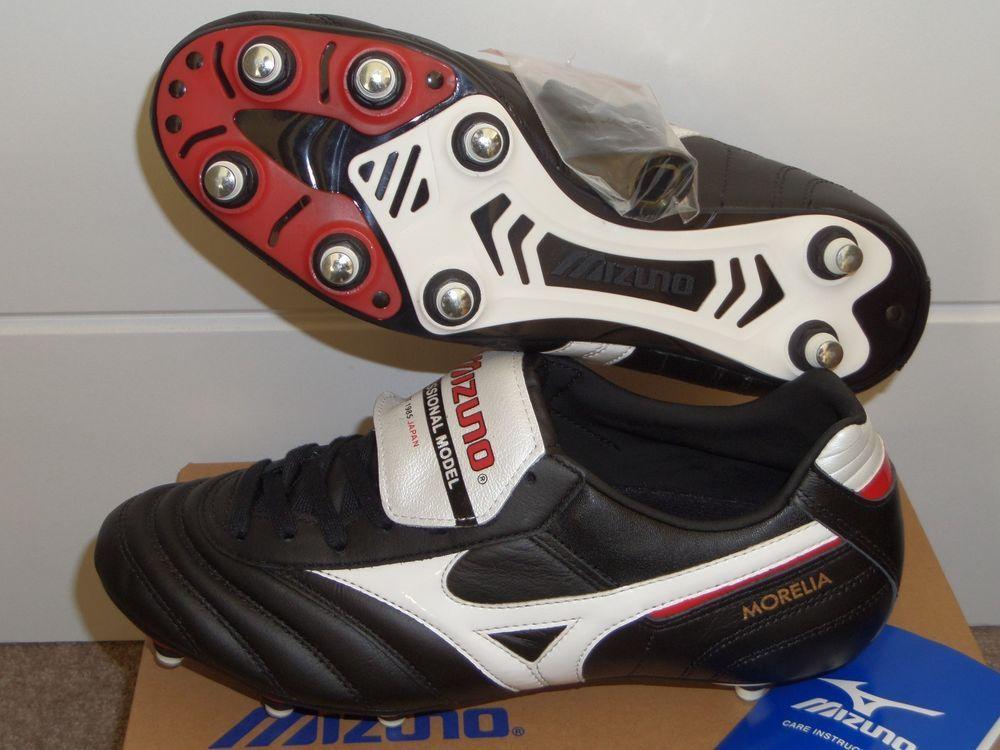 4e2e6a22834c0 MIZUNO MORELIA PRO SG Football Boots Kangaroo Leather Soccer Cleats ...