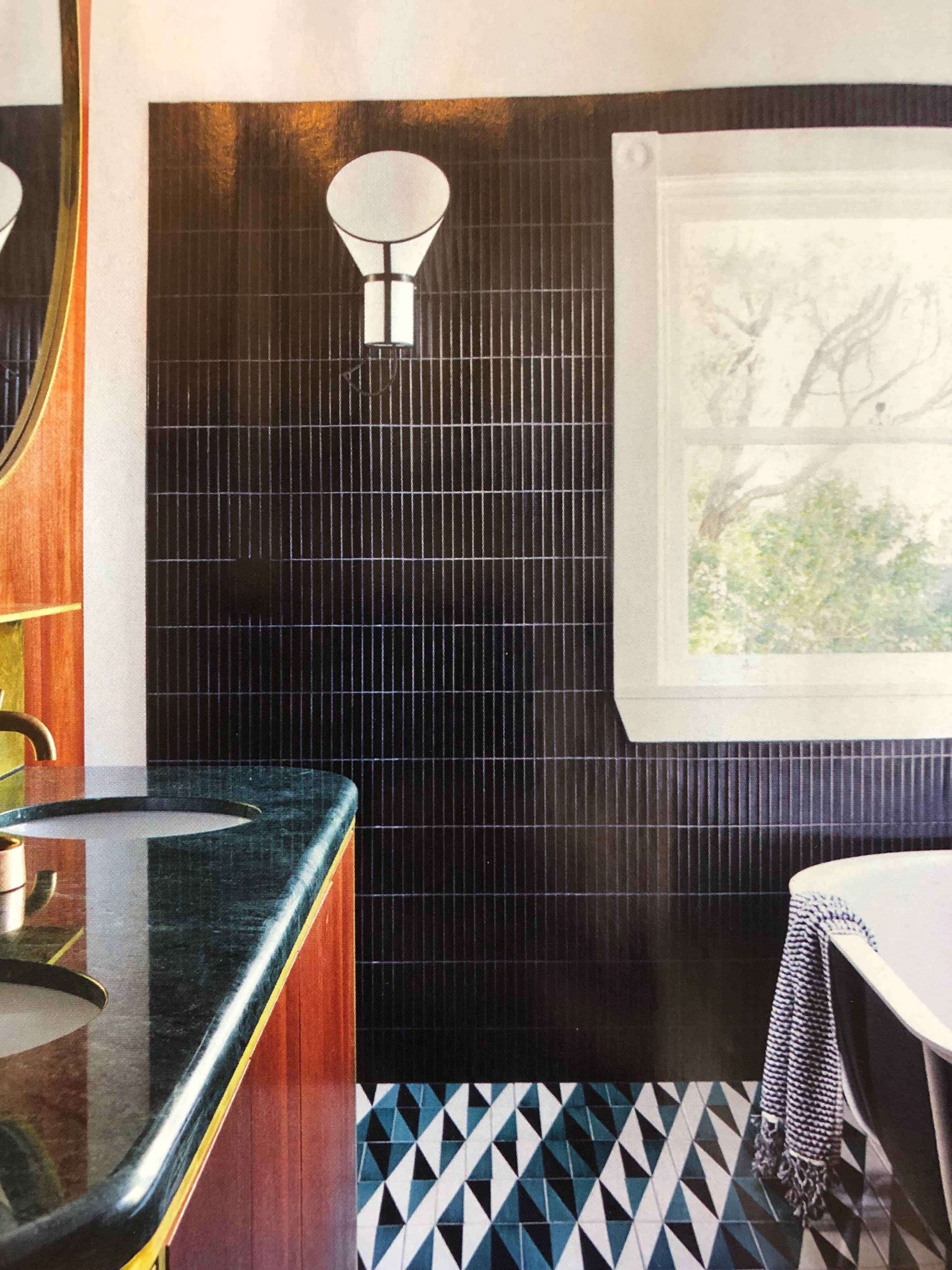 Yuki Border Wall Tiles Black Artedomus En 2019 Salle De Bain