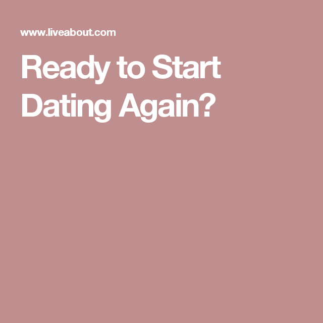 When is it appropriate to start dating again