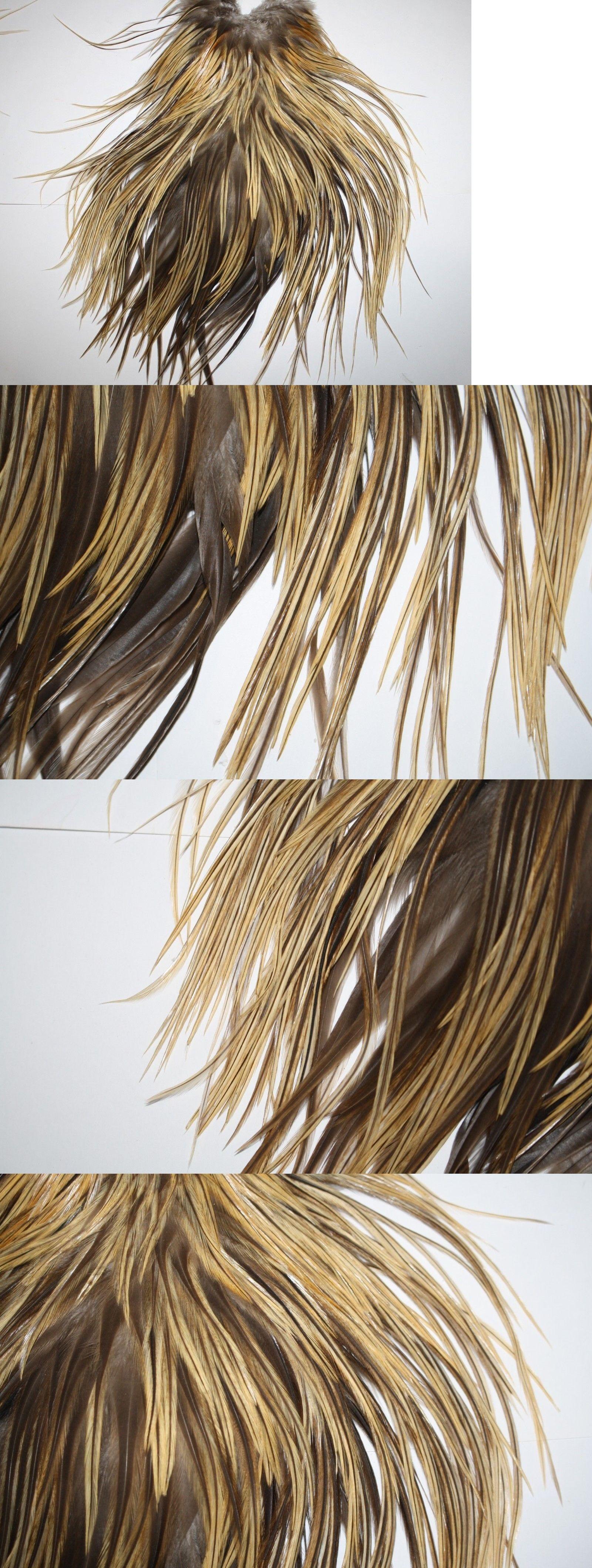 Angelsport-Fliegen-Bindematerialien Angelsport-Köder, -Futtermittel & -Fliegen Fly Tying Whiting Gold Rooster Saddle Light Ginger #C