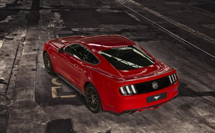 Ford Mustang Gt Launched In India Priced At Rs 65 Lakh Ford