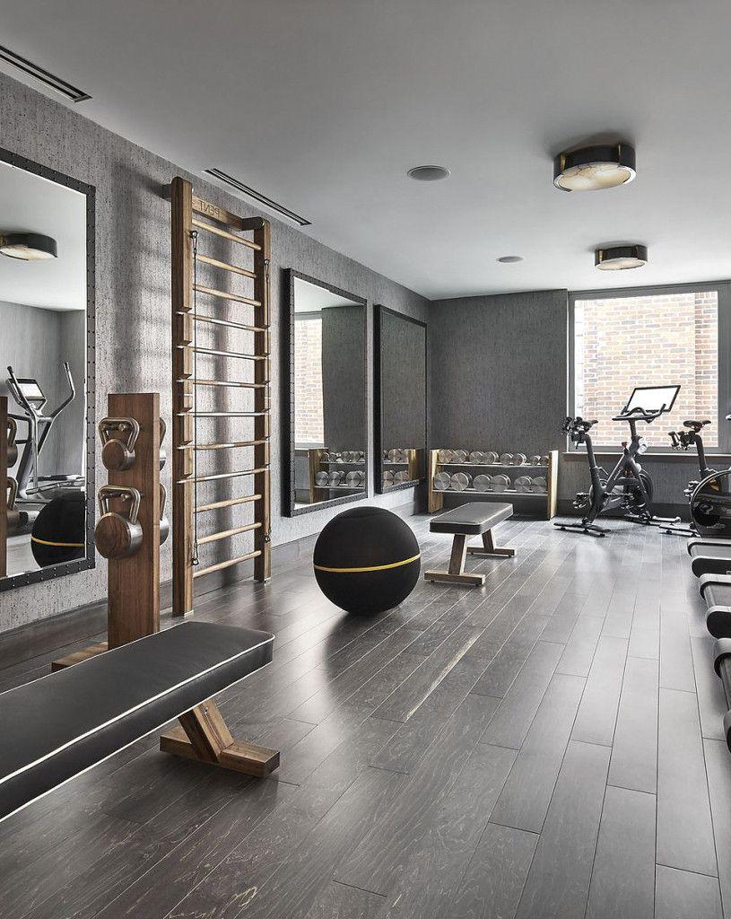 Boden Für Fitnessraum Zu Hause Mit Fitnessstudio Zuhause Einrichten 11 Und  Kleines Eigenes Luxury Fitness Home