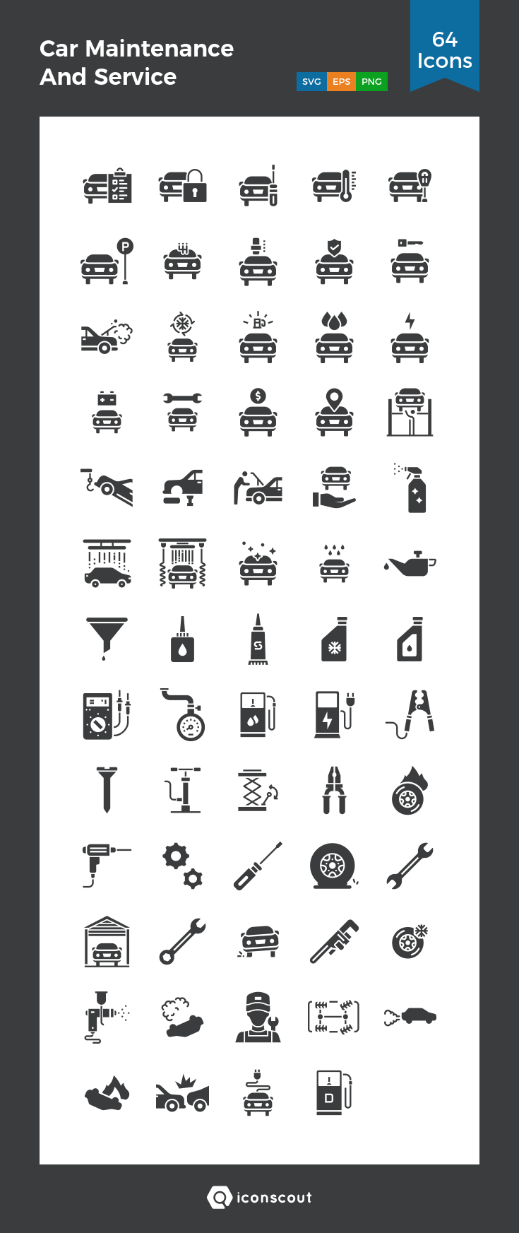 Download Car Maintenance And Service Icon Pack Available In Svg Png Eps Ai Icon Fonts Car Maintenance Icon Pack Maintenance