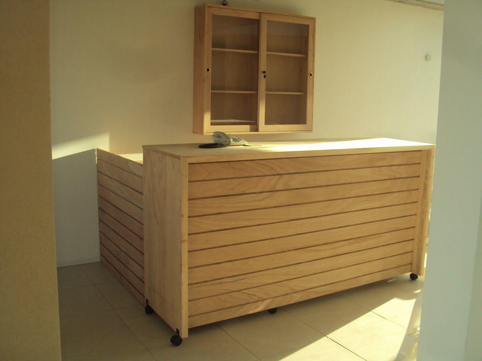 Mueble y barra de fenolico para solárium | Fenolicos | Pinterest