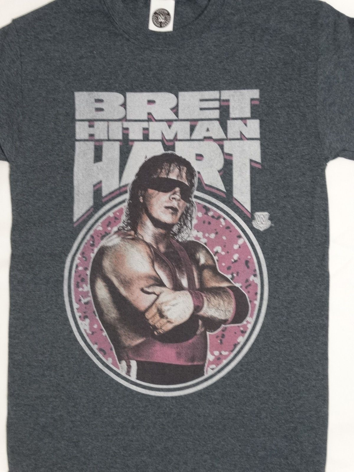 7fa55596 Details about Bret The Hitman Hart Wrestling Officially Licensed WWE ...