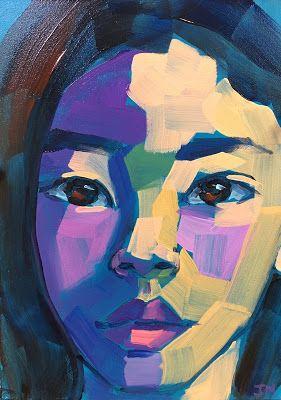 Jessica Miller Paintings Half Hour Portrait Portrait Painting Art Theory Painting