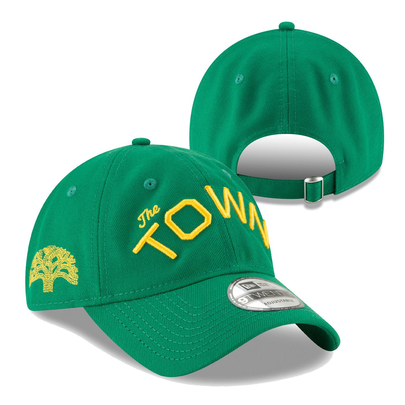 Golden State Warriors New Era  The Town  Wordmark 9TWENTY Slouch Cap - Green 2af58b188d3