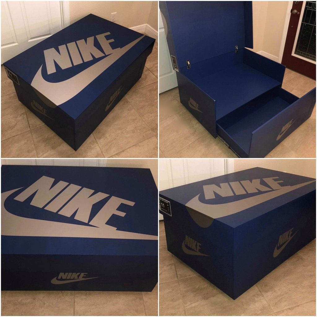 Nike Shoe Storage Box With Color Options Shoe Box Storage Giant Shoe Box Shoe Storage