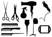 BEAUTICIAN CLIP ART | Beautician Clipart EPS Images. 588 beautician clip art vector ...