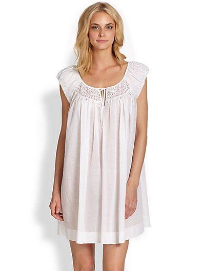 Oscar de la Renta Sleepwear Women s Breezy Short Gown  d2112cc24