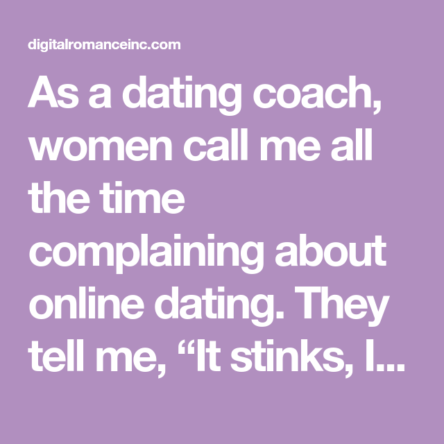 call a dating coach