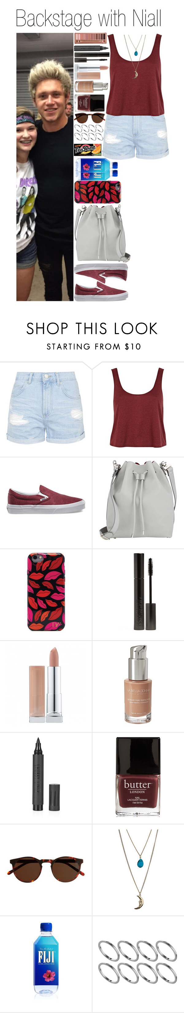 """#Backstage with Niall"" by didi-horan ❤ liked on Polyvore featuring Topshop, River Island, Vans, Proenza Schouler, Diane Von Furstenberg, Urban Decay, Giorgio Armani, La Bella Donna, J.Crew and Miss Selfridge"
