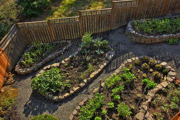 Raised beds - Portland Landscaping Outdoor Living - contemporary - landscape - portland - Paradise Restored Landscaping & Exterior Design